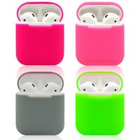 1pc Silicone Wireless Headphone Box Shockproof Protector for Apple Air Pods Case