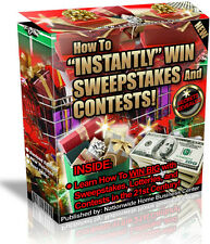 HOW TO INSTANTLY WIN SWEEPSTAKES AND CONTESTS FREE SHIPPING PDF EBOOK