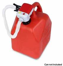 TERA PUMP Battery Operated High Powered Fuel Gas Transfer Pump Auto Stop, TRFA01