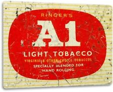 A1 Tobacco Smoke Chew Smoking Retro Vintage Wall Decor Man Cave Metal Tin Sign