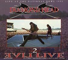 Diamond Head - Evil Live (2 CD Digipak) 1993 (2017) Neuware