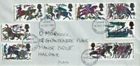 14 OCT 1966 BATTLE OF HASTINGS NON PHOS PLAIN FIRST DAY COVER BRADFORD FDI