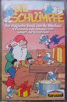 MC Die Schlümpfe Weihnachten Mr. Nikolaus Karussell Rare Original Kassette NEU