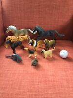 Lot Of 10 Quality Large Toy Animals