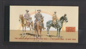 South Africa 2002 Boer War Prestige Booklet MNH per scan