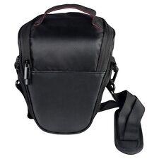 UK Triangle Digital DSLR TLR Camera Shoulder Carry Case Bag For Canon Sony Nikon
