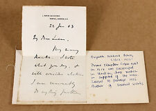 1903 | Herbert ASQUITH | ORIGINAL handwritten letter | ex british prime minister