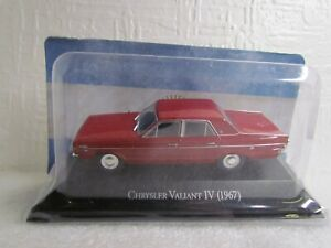 ALTAYA /IXO - 1967 CHRYSLER VALIANT IV - 1/43 SCALE MODEL - ARGENTINA COLLECTION