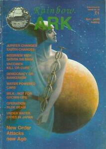 RAINBOW ARK 15 Summer 1995 Rare New Age Conspiracists, early Vaccine Denialists