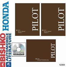 2012 Honda Pilot Shop Service Repair Manual Cd