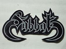 SABBAT BLACK THRASH METAL EMBROIDERED BACK PATCH