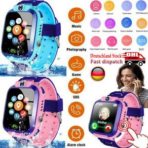 Smartwatch Kinder Uhr mit Kamera Wasserdicht  SOS Telefon Uhr Jungen Mädchen DHL