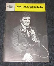 Playbill A JOYFUL NOISE signed by Karen Morrow, Opening Night, Dec 15, 1966