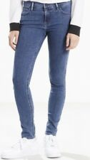 Levi's Line 8 Mid Rise Skinny Fit Ladies Blue Jeans