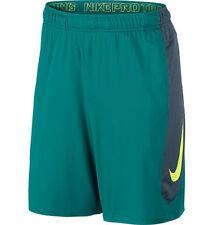 NUOVO Nike HyperSpeed Lavorato a Maglia Uomo Training Pantaloncini Verde Taglia XL 684821-309
