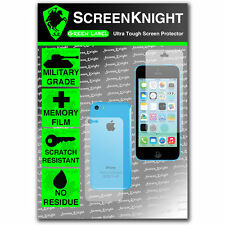 ScreenKnight Apple iPhone 5C FULLBODY SCREEN PROTECTOR invisible MILITARY shield