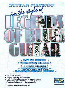 Guitar Method: Legends of Blues Guitar DVD