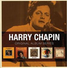 Harry Chapin ORIGINAL ALBUM SERIES Box Set HEADS & TAILS Short Stories NEW 5 CD