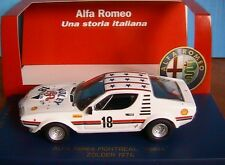 ALFA ROMEO MONTREAL CORSA #18 ZOLDER 1974 M4 7082 1/43 1344 PIECES LTD EDITION