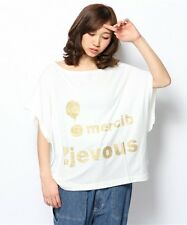BRAND NEW MERCIBEAUCOUP GOLD LOGO T SHIRT FROM JAPAN