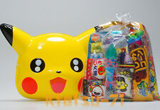 Pokemon Omen Mask Pikachu Cosplay Toy with Japanese Candy Snack Assorted set