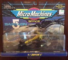 Babylon 5 Micro Machines Set 1 Galoob 1995 Sealed Unopened