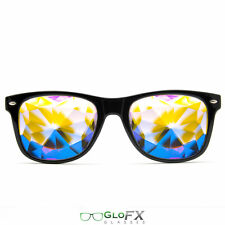 Kaleidoscope Crystal Glasses USA costume party club novelty 3D trippy rave