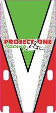 PROJECT ONE STYLE HONDA ENGINE STICKER - KARTING