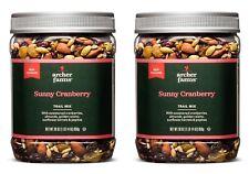 2Pk Archer Farms Sunny Cranberry Trail Mix 30oz Plastic Jars