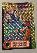 Carte Dragon Ball Z Carddass Hondan Part 24 Prism Card #297 BANDAI