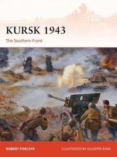 KURSK 1943 - FORCZYK, ROBERT/ TURNER, GRAHAM (ILT) - NEW PAPERBACK BOOK