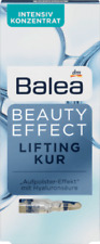 5 Balea Beauty Effect Lifting Kur Hyaluronic Acid Ampoules Shipping from Germany