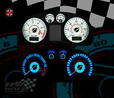 VW Polo mk3 1.4 120 millas por hora Speedo Reloj Panel Dash Kit de Marcado Bombilla Interior