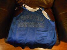 Duke Blue Devils blue basketball jersey sz XL