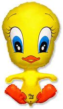 "Flexy Duck Tweety Bird Shaped Balloon 39"" Foil Balloon - Helium or Air Fill"