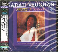 SARAH VAUGHAN-SWEET `N SASSY-JAPAN SHM-CD C15