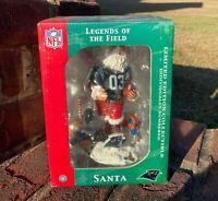 NFL Legends of the Field - Carolina Panthers - Christmas Santa #3 Bobble Head
