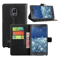 Magnetic PU Leather Wallet Flip Case Cover for Samsung Galaxy Note Edge SM-N915