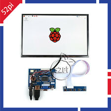 "10.1"" inch 1280*800 LCD Display HDMI+VGA+2AV Driver Board for Raspberry Pi 3/2"