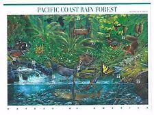 US Scott #3378 MNH NATURE OF AMERICA SERIES 2nd SHEET - PACIFIC COAST RAINFOREST