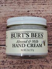 Burt's Bees Hand Cream Lotion Almond & Milk 2 Oz. Rejuvenation Moisturizer