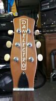 Danelectro DC 2 korean neck, copper for project, pull off , lot of 1 RARE