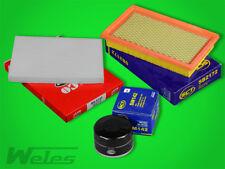 FS347 INSPEKTIONSPAKET Luftfilter Ölfilter Pollenfilter NISSAN QASHQAI 1,5 dCi