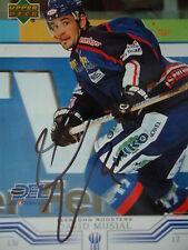 118 David Musial Iserlohn Roosters del 2001-02 ORIG. firmato