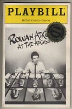 """Rowan Atkinson At The Atkinson""  BROADWAY  Playbill 1986  OPENING NIGHT  PHOTOS"