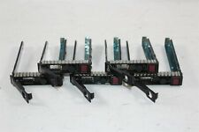 """Lot of 5 Hp 651687-001 2.5"""" Sas Hdd Tray Caddy for ProLiant Ml350E G8"""