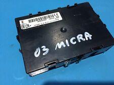 NISSAN MICRA 1.5 DCI 5DOOR HATCH ECU CONTROL MODULE 284B2AX601