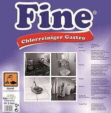 10 Liter FINE Chlorreiniger,Gastronomie, Konzentrat,Allzweckreiniger hygiene