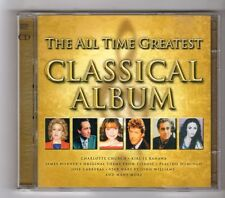 (GZ789) Various Artists, The All Time Greatest Classical Album - 2000 Double CD