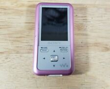 Sony Walkman NWZ-S615F MP3 Player As-Is Charging port damaged